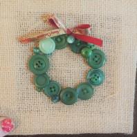 Button Wreath