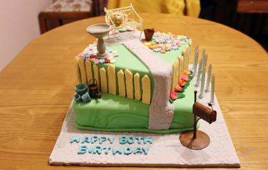 Garden 80th Birthday