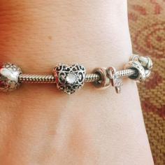 Charm on my bracelet.